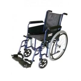 Wózek inwalidzki stalowy z hamulcami NewClassic