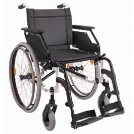 Solidny wózek inwalidzki aluminiowy