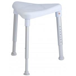 Etac Edge - stołek prysznicowy z regulacją wysokości (narożne siedzisko)