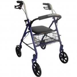 Podpórka inwalidzka rehabilitacyjna czterokołowa TIMAGO